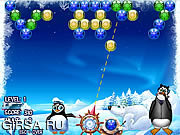 Флеш игра онлайн Полярная фейерверки / Polar Fireworks