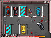 Флеш игра онлайн Автостоянка полиции / Police Car Parking