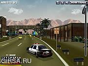 Флеш игра онлайн Полицейское приследование / Police Chase Crackdown