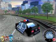 Флеш игра онлайн Полицейская гонка / Police racing