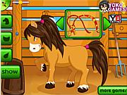Флеш игра онлайн Забота о пони