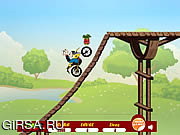 Флеш игра онлайн Popeye Bike Ride