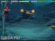 Флеш игра онлайн Power Rangers Samurai Deep Sea Defense