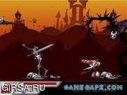 Флеш игра онлайн Power Rangers Samurai Spirit