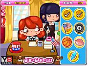 Флеш игра онлайн Сара - президент