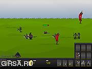 Флеш игра онлайн Prince of War