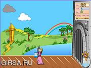 Флеш игра онлайн Принцесса и рогаткой / Princess and the Pea Shooter