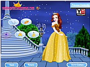 Флеш игра онлайн Princess Cinderella Dress Up Game