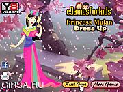 Флеш игра онлайн Принцесса Мулан / Princess Mulan Dress Up