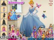 Флеш игра онлайн Найти предметы в комнате принцессы / Princess Room Hidden Objects