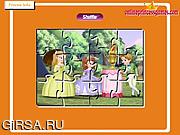 Флеш игра онлайн Принцесса София. Пазл