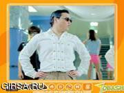 Флеш игра онлайн ПСИ Гангам Стайл / Psy Gangnam Style