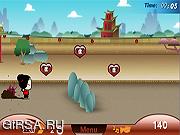 Флеш игра онлайн Преследование Pucca