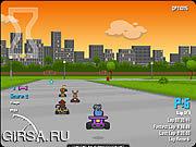 Флеш игра онлайн Веселая гонка