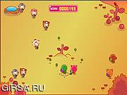 Флеш игра онлайн Мяч Puppyred Войны / Puppyred Ball War