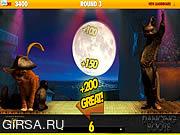 Флеш игра онлайн Кот в сапогах - танец сапоги / Puss in Boots - Dancing Boots