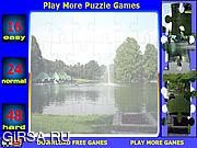 Флеш игра онлайн Озеро - пазлы