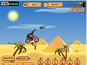 Флеш игра онлайн Pyramid Moto Stunts