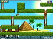 Флеш игра онлайн Бегунок пирамидки