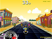 Флеш игра онлайн Race Choppers