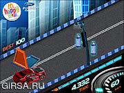 Флеш игра онлайн Супер гонка / Hot Wheels Racer