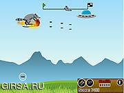 Флеш игра онлайн Шальной Raccoon / Crazy Raccoon
