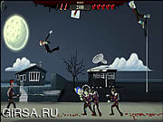 Флеш игра онлайн Ragdoll Zombie Slayer