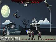 Флеш игра онлайн Коварные зомби / Ragdoll Zombie Slayer