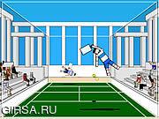 Флеш игра онлайн Теннис рэгдолла