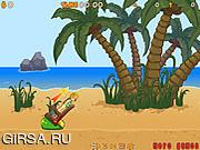 Флеш игра онлайн Атака пушкой / Ragdoll Launcher