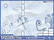 Флеш игра онлайн Карамболь 4 Ragdoll