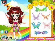 Флеш игра онлайн Радуга Фея / Rainbow Fairy