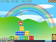 Флеш игра онлайн Радуга лиса / Rainbow fox