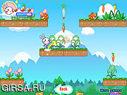 Флеш игра онлайн Rainbow Rabbit 4