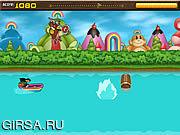 Флеш игра онлайн Rainbow Monkey Rundown