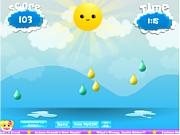 Флеш игра онлайн Атака дождя / Raindrop Rush
