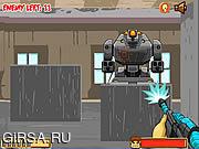 Флеш игра онлайн Rambo Robot Mayhem