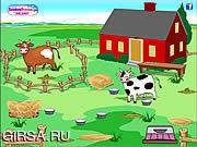 Флеш игра онлайн Ранчо - Уборка урожая