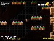 Флеш игра онлайн Вороний бог / Ravine Climber