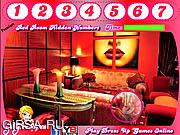 Флеш игра онлайн Красная комната / Red Room Hidden Numbers