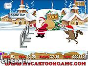 Флеш игра онлайн Рождественское соревнование / Regular Show Christmas Competition