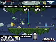 Флеш игра онлайн Защита острова / Reign of Centipede