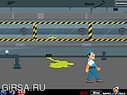 Флеш игра онлайн Ремонтники - побег