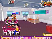 Флеш игра онлайн Осторожное свидание / Restaurant Love Fun
