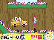 Флеш игра онлайн Ride with Polly Pocket