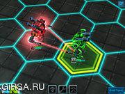 Флеш игра онлайн Robomon Arena