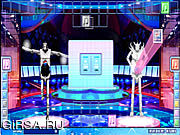 Флеш игра онлайн Танцы роботов / Robot Dance Battle