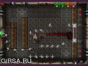 Флеш игра онлайн Robots VS Zombies 2