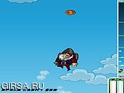 Флеш игра онлайн Ракета Санта
