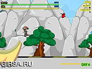 Флеш игра онлайн Ракетный скейтбордист